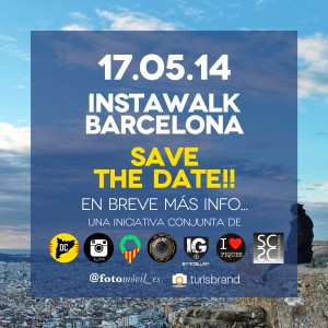 instawalk barcelona save the date2