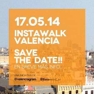 instawalk valencia save the date